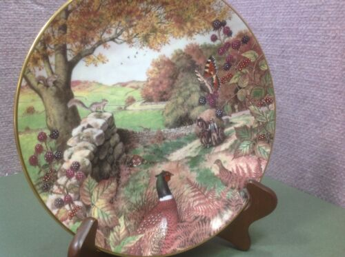 "Collectors 9"" PLATE, All Creatures Great & Small, Dalesman's Autumn"