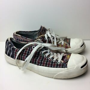 f8190a3230e9 Image is loading CONVERSE-Jack-Purcell-Patchwork-Canvas-Low-Top-Sneakers-