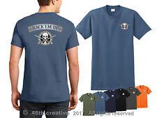 Billiards T-shirt - rack'em up billiards shirt pool table pool cue skull shirt