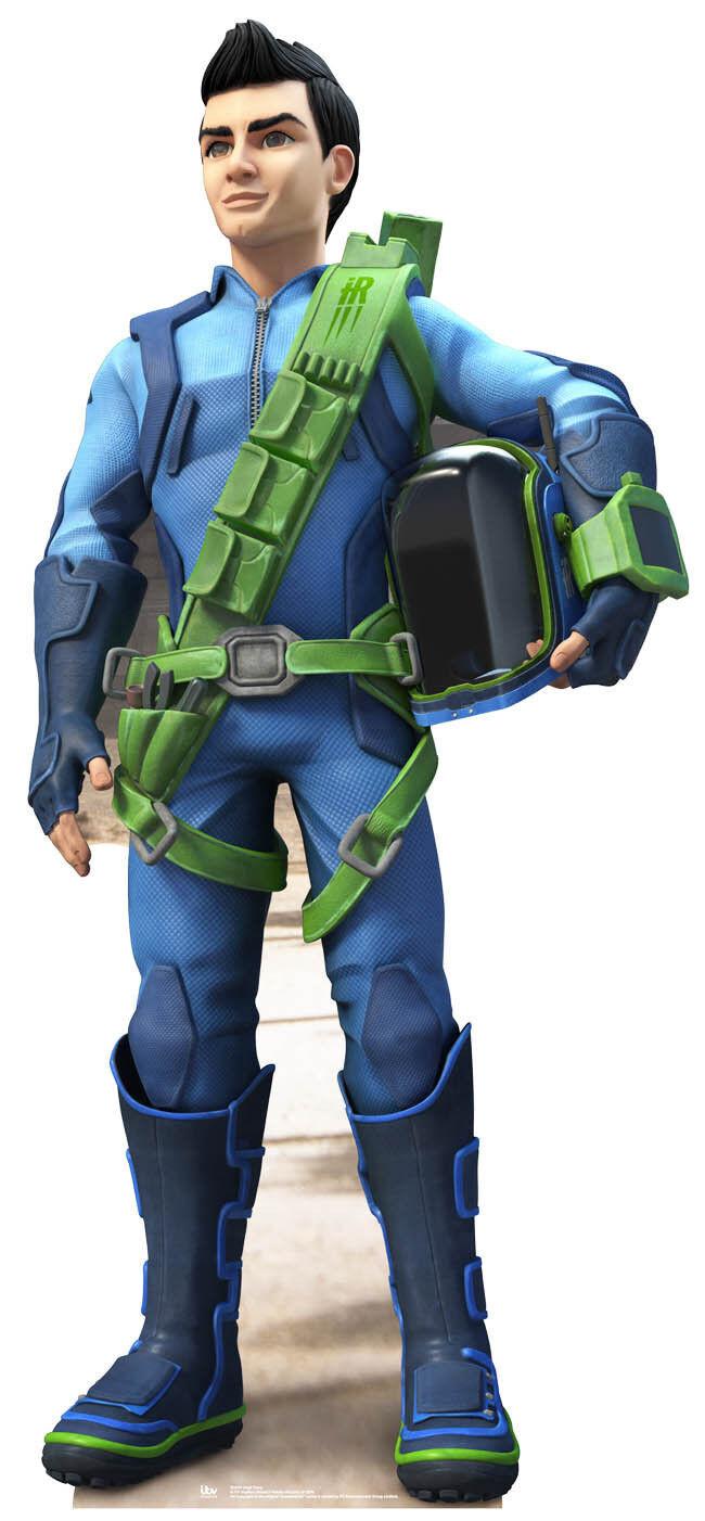 Vergil Tracy Thunderbirds Are Go Pappfigur Aufsteller International Rescue   Hochwertige Produkte    Primäre Qualität