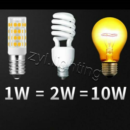 E14 LED bulbs COB Replace Halogen 6W globe warm cool white SMD 2835 lamp AC 240V