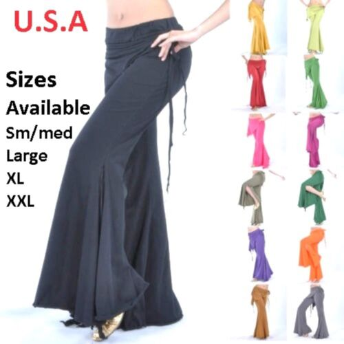 Belly Dance Tribal Melodia Yoga Pants Costume USA Quick Shipping  FREE GIFT