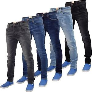 Mens-skinny-jeans-Firetrap-Stretch-Cotton-Casual-Denim-Pants-Trousers-All-Waists