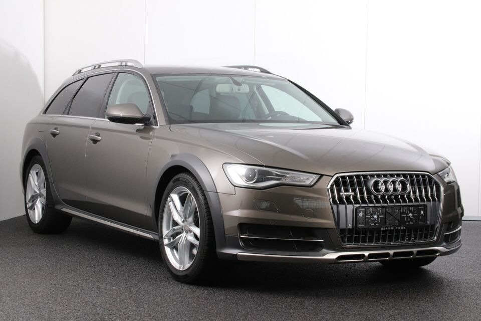 Audi A6 allroad 3,0 TDi 218 quattro S-tr. Diesel 4x4 4x4 aut.