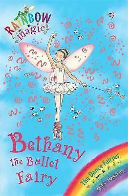 Bethany the Ballet Fairy (Rainbow Magic) by Daisy Meadows, Good Used Book (Paper