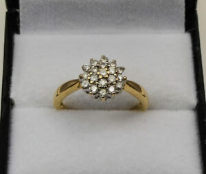 18ct-Yellow-Gold-Diamond-Cluster-Claw-Set-Ring-0-50ct-Size-N