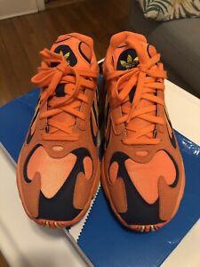 73c79226a99b Adidas Yung-1 Size 8 Men s Goku Hi-res Orange B37613 DBZ Shock ...
