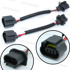 H13 / 9008 Wiring Harness Socket Connector Plug Extension For Headlight Fog HID