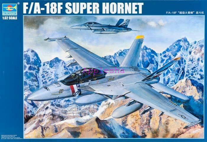Trumpeter 03205 1 32 F A-18F Super Hornet