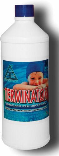 Sgrassante bordi Terminator 1 lt concentrato piscine pavimenti sciogli calcare
