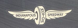Indianapolis-Motor-Speedway-Gold-Wings-Wheel-Decal-Indy-500-Brickyard-400-Nascar