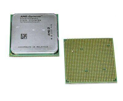 Amd Opteron 875 Osa875fkm6bs 4x 2,2ghz Sockel 940 Prozessor Cpu