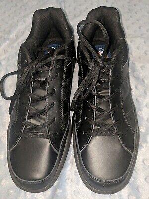 Dickies Athletic Skate Work Shoes Women Size 10 5 Black Slip Resistant Safety Ebay