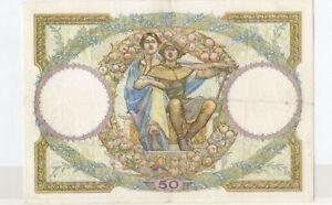 Constructif Billet 50 Frs - L.o. Merson -20-10-1932 Numero : 11388-576