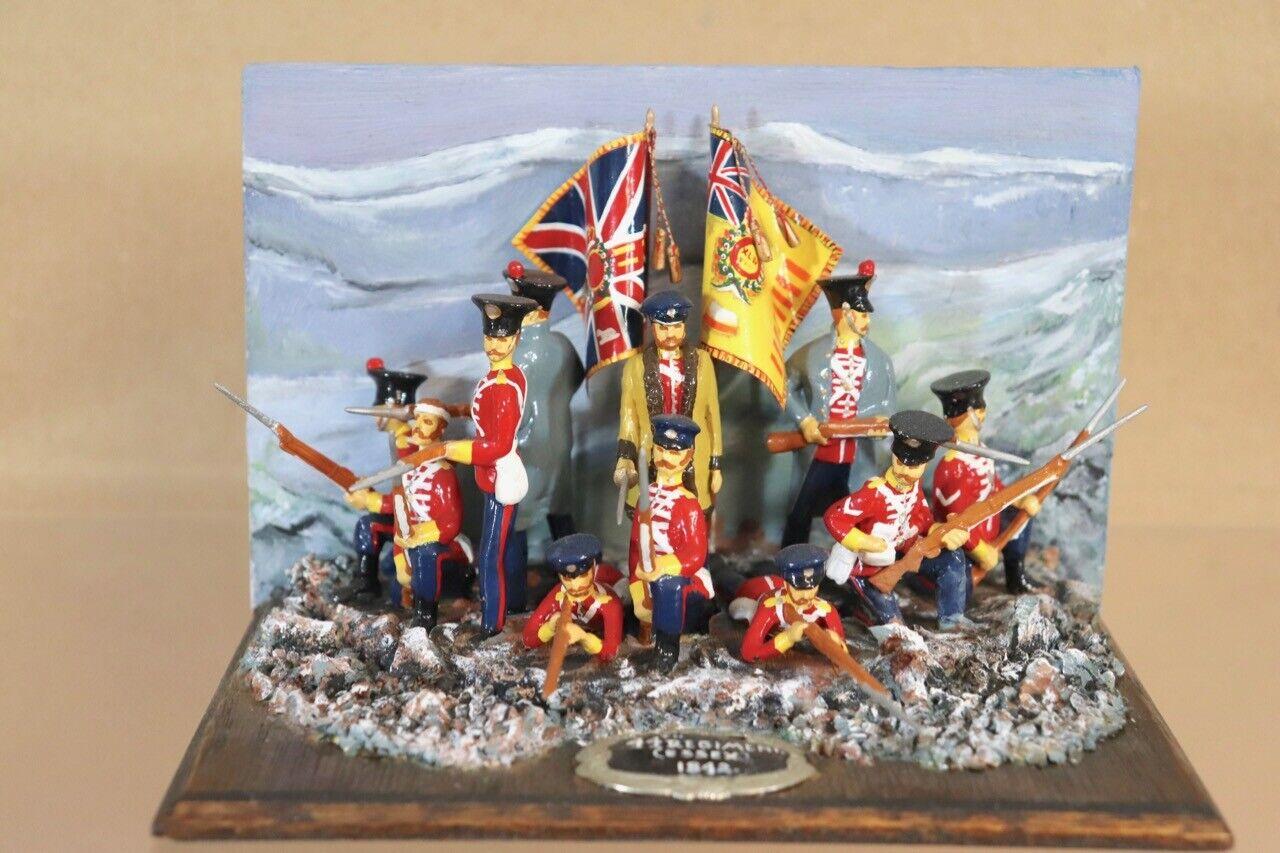 BRITANIEN STADDEN ANGLO AFGHAN WAR RETREAT von KABUL 44th REGIMENT ESSEX 1842