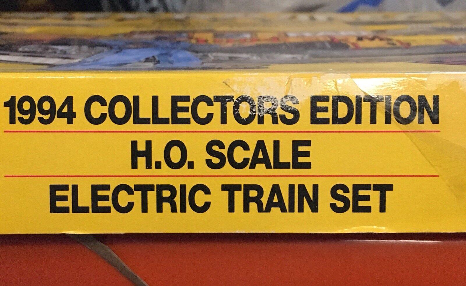 HARLEY-DAVIDSON  uomoUFACTURING    1994 COLLECTORS edizione RTR HO TRAIN SET 6bc6e5