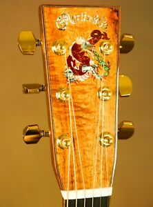 Martin-OM-45-Dragon-Koa-Custom-Acoustic-Guitar
