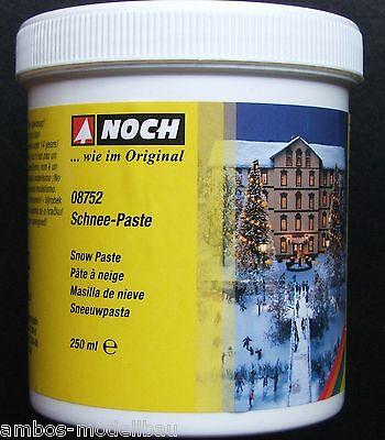 (40,80€/l) NOCH 08752 Schnee-Paste, 250ml in der Dose, Neu