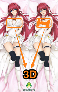 Escalayer Kamiki Ekushiru sm2112 Anime 3D Breasts Dakimakura body pillow case