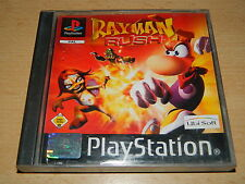 PS1 - Rayman RUSH - Handbuch & CD in guten Zustand