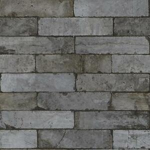 Image Is Loading RASCH FACTORY STONE PATTERN BRICK FAUX EFFECT TEXTURE