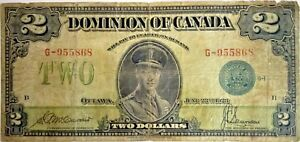1923-Dominion-of-Canada-Large-2-Note-Blue-Seal-114