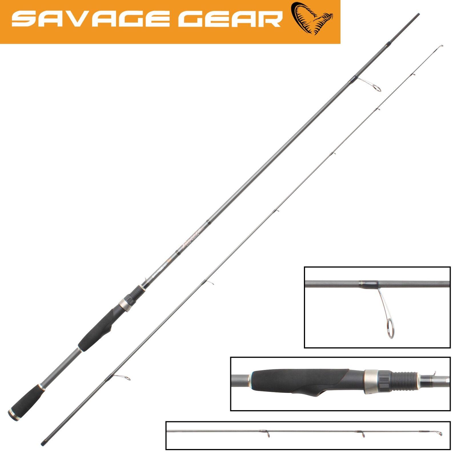 Savage Gear Finezze Dropshot für Rute 233cm 5-20g, Spinnrute für Dropshot Raubfische cc4411