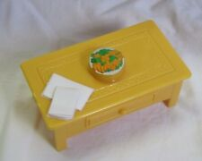 FISHER PRICE Loving Family Dollhouse COFFEE SIDE TABLE Living Room Centerpiece