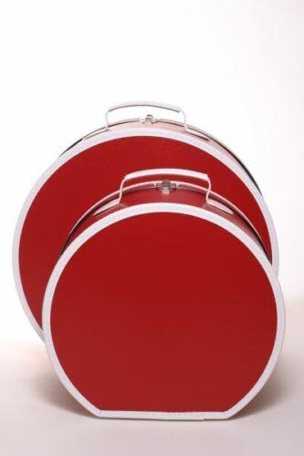Loevenich hutkoffer rouge//blanc 50 cm