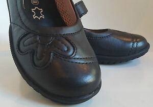 Geox Leather Shadow School Uk 8 5 Black Scarpe QWdxCreBo