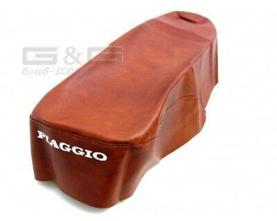 Sitzbezug Sitzbankbezug in Braun für Piaggio Vespa ET 2 4 ET2 ET4 50 - 125ccm