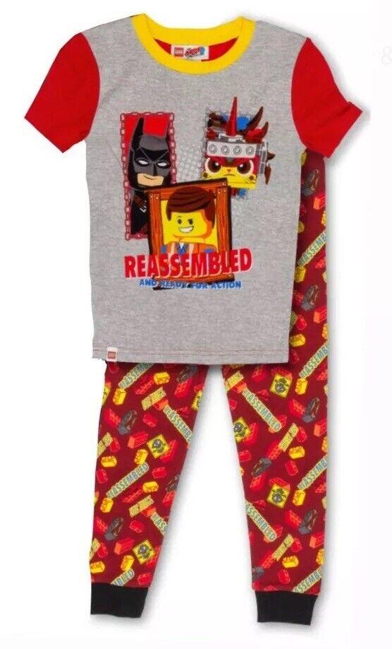 LEGO Batman Short Sleeve Pyjama 4 6 8 10 years new with tags lot2