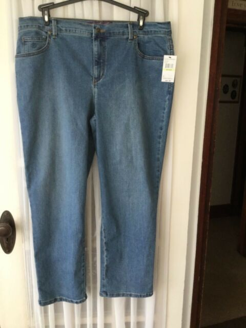 d754b141deb Womens Gloria Vanderbilt Amanda Jeans 18w Short Medium Wash 18 W for ...