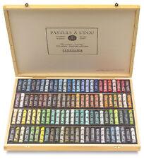 Sennelier Soft Pastels - Professional Artists Pastels - 100 Wooden Box Landscape
