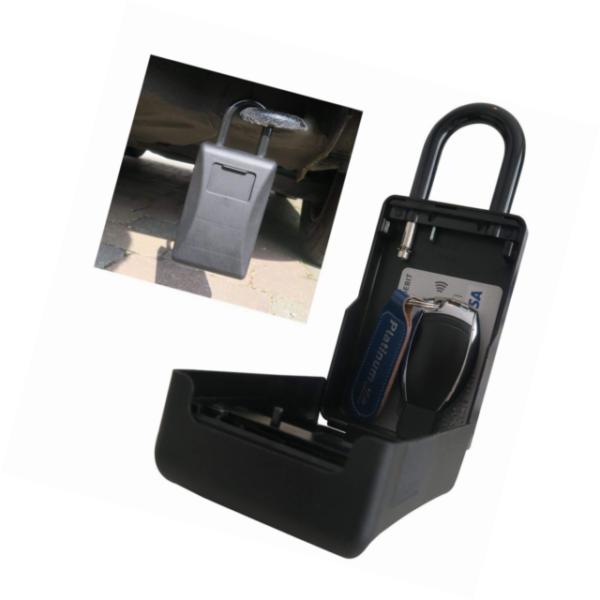 Car Key Safe Secret Hidden Compartment Stash Keyring Festival 2019 Box Pill F6D5