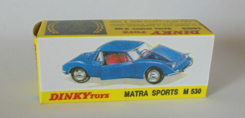 1403 MATRA M 530 Sports REPRO BOX DINKY n