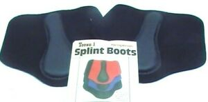 Tough-1-schwarz-Neopren-kleinen-Splint-Boots-Pferd-Tack-Equine-66-3235