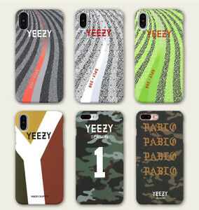 new arrival ba5fc 5eb5c Details about YEEZY Luminous Hard Protective Phone Case Cover For iPhone X  8 7 Plus 6 6S Plus