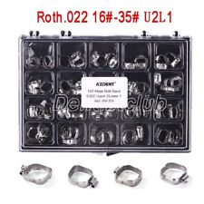 Azdent Dental Orthodontic Bands With Buccal Tube For 1st Molar Roth 022 16 35