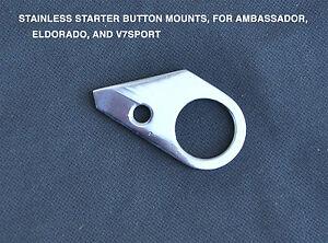 Moto-Guzzi-Ambassador-Eldorado-V7-Sport-750S-starter-button-bracket-in-Stainless