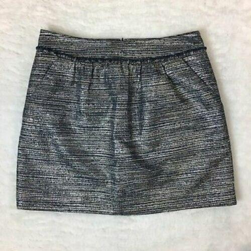 | Sale | GAP | Structured Metallic Mini Skirt