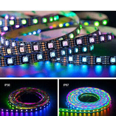 WS2815 12V RGB LED Pixels Strip Light Individually Addressable Dual Signal 1-5M