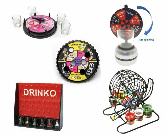 Adult Drinking Games Fun Stag Hen Birthday Party Shot Glasses Novelty