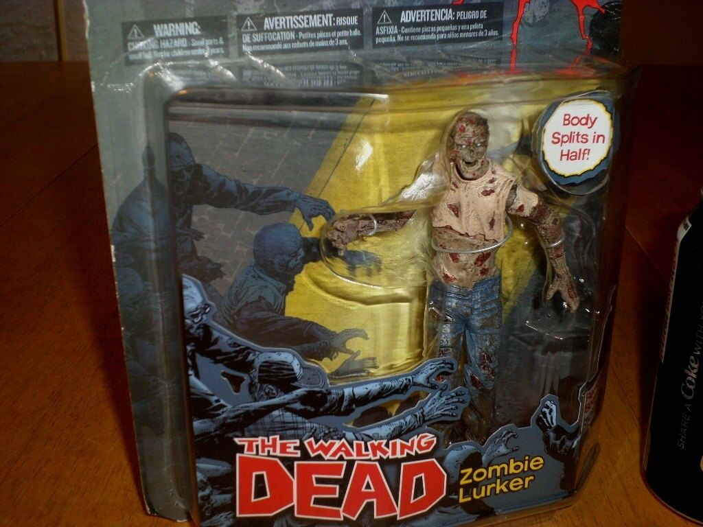The Walking Dead - ZOMBIE LURKER, McFarlane Toys Action Action Action Figure, Removable Parts dc9894