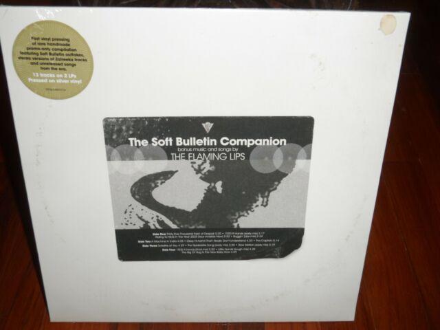 The Flaming Lips - The Soft Bulletin Companion 2021 RSD LP Silver Vinyl