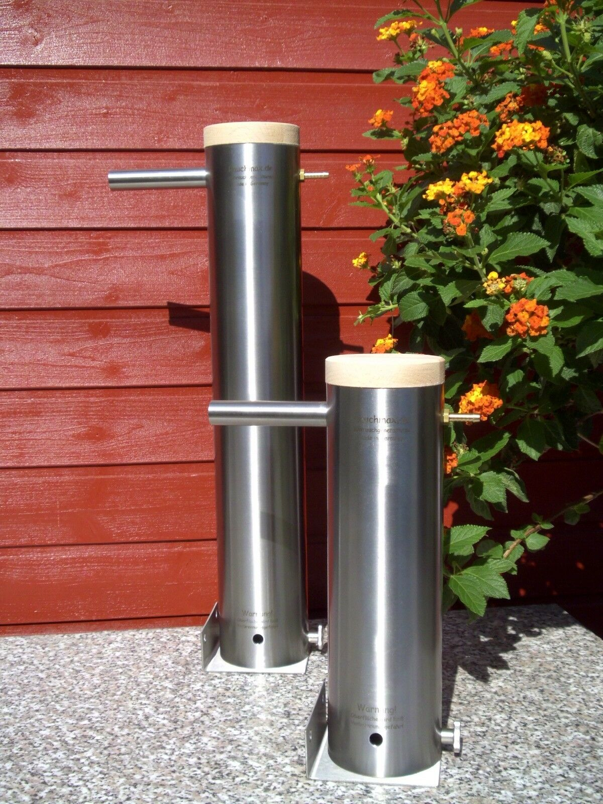 Kaltrauchgenerator Rauchmax Edelstahl Raucherzeuger  Kaltraucherzeuger 2-3 Std.
