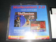 """WOLFENSTEIN 3D Shareware VERY RARE 5.25"""" Floppy Disk Format PC IBM Video Game"""