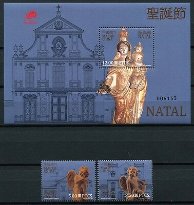 Macau Macao 2013 Weihnachten Christmas Natal Joint Issue 1871-1872 Block 219 MNH