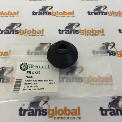 Land Rover Series 2 3 Track Rod Ball Joint Rubber Boot Cover x1 - Bearmach Part