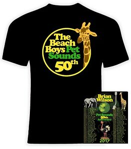 Brian Wilson Pet Sounds 2017 Concert Tour 5oz T Shirt